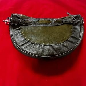 Half-moon Timeless Unique Handbag Real New WOT